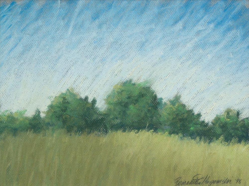 Summerfield, pastel, 10 x 12 © Bernadette E. Kazmarski