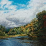 Autumn in the Valley, pastel, 31″ x 27″, 2010 © Bernadette E. Kazmarski