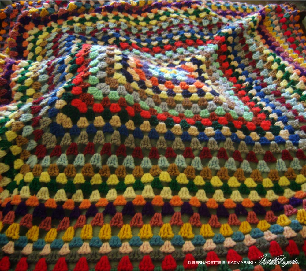 My Mother's Tuesday Afghan-poetry