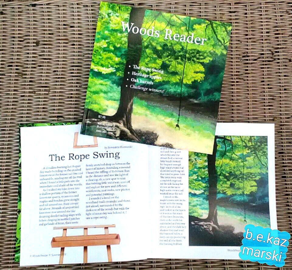 "The Rope Swing in ""Woods Reader"" magazine"